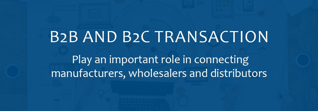 B2B- und B2C-Portal