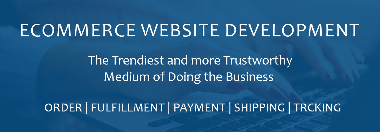 Development of e-commerce sites