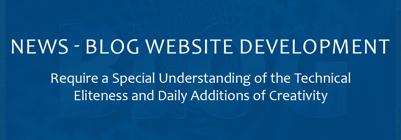 News - Blog sites development